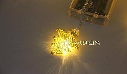 Led string fata luci ambiente stellato illuminazione esterna per