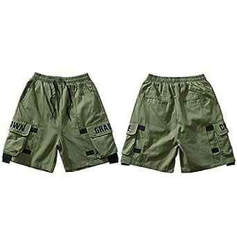 Cuco Fantasy Cargo Short Streetwear Embroidery Pockets