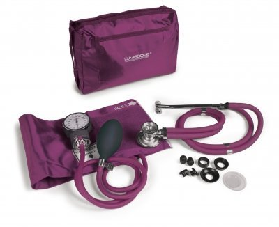 (Deluxe Aneroid Blood Pressure Monitor, Lumiscope)