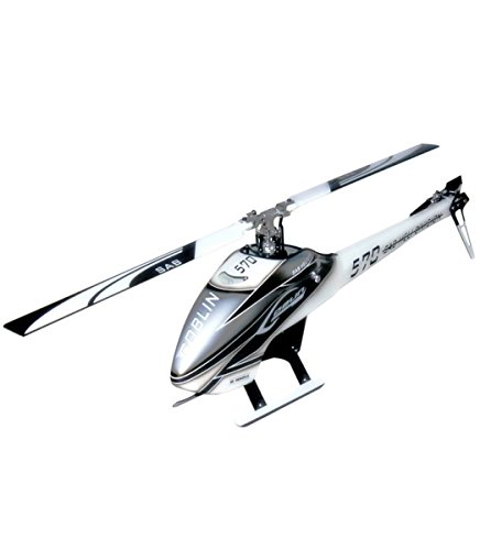 SAB Goblin 570 Flybarless Electric Helicopter Grey/White Kit
