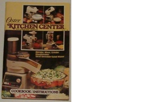 Oster Kitchen Center Food Preparation Appliance (Cookbook/Instructions)