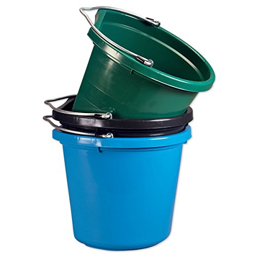 Fortiflex Flat-Back Bucket 5 Gallon Green