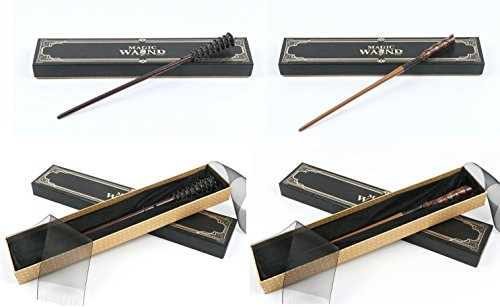 Cultured Customs Magical Wand Replicas: Fred Weasley + George Weasley - Prop Cosplay Replica Collectible Trading -