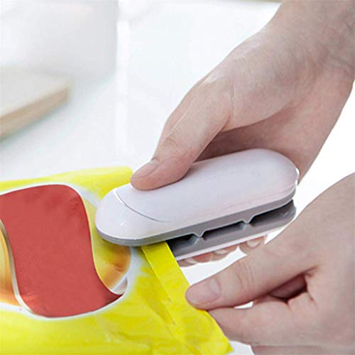 ❤Ywoow❤ Sealing Machine, Portable Sealing Tool Heat Mini Handheld Plastic Bag Lmpluse Sealer -
