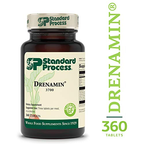 (Standard Process - Drenamin - Supports Immune System Function, Energy Production, and Balanced Mood, Source of Antioxidant Vitamin C, Riboflavin, Niacin, and Vitamin B6, Gluten Free - 360 Tablets)