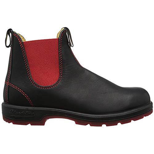 - Blundstone  Men's BL1316 Winter Boot,Black/Red,9 UK/10 M US