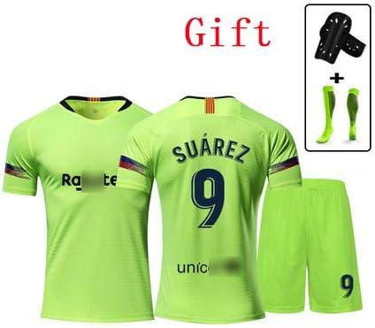 newest 8b50e 38698 Barcelona# 9 Luis Suarez football t-shirt Tottenham jersey ...