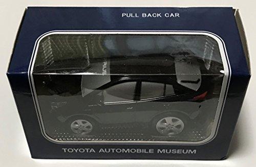 トヨタPRIUS(黒) トヨタ博物館 オリジナルプルバックカー(Pullback car)