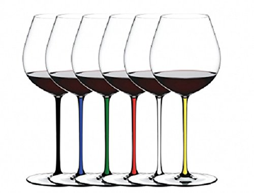 Riedel Fatto a Mano Old World Pinot Noir Glass Gift Set (6 Glasses) by Riedel