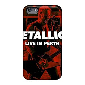 RudyPugh Iphone 6 Scratch Protection Mobile Cover Customized Stylish Metallica Image [jBb11346lJiP]