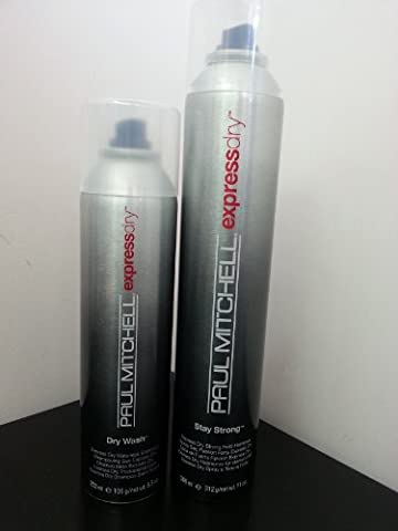 DRY WASH EXPRESS DRY WATERLESS SHAMPOO 5.5oz, STAY STRONG EXPRESS