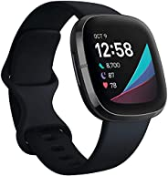 Fitbit Sense Advanced Smartwatch with Tools for Heart Health(ECG), Stress Management & Skin Temperature Tr