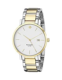 Kate Spade New York Women's Gramercy Grand 1YRU0108 Two-Tone Gold Watch