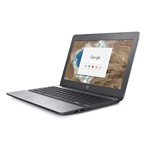 HP 11-V010 11.6in HD 16GB Chromebook Intel Celeron N3060 4GB WiFi Bluetooth (Renewed)