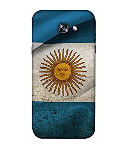 ColorKing Football Argentina 18 Multicolor shell case cover for Samsung A5 2017
