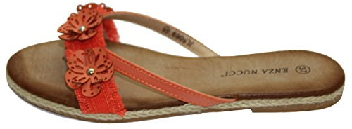 STEKOST - Zapatos con correa de tobillo Mujer naranja