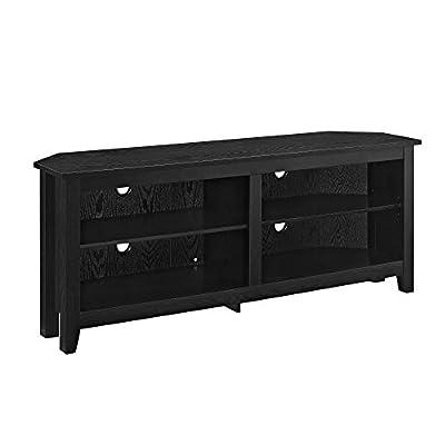 "WE Furniture 58"" Corner TV Stand"