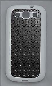 Samsung S3 Case Patterns vinyl TPU Custom Samsung S3 Case Cover White