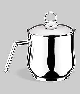 Turkish stainless steel milk pot 2 liters - Lines , 2724698669292