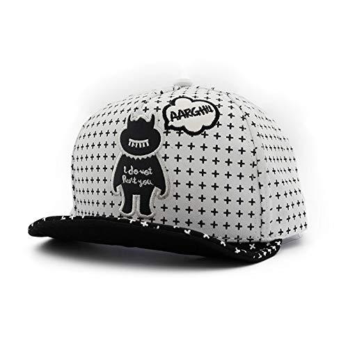 KFEK New hat Hexagonal Star Embroidery Tide Male and Female Hip-hop Hip hop hat A15 (Stars Of Love And Hip Hop Atlanta)