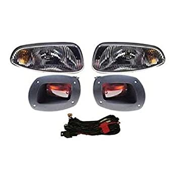 Amazon golf cart ezgo rxv golf cart complete head light golf cart ezgo rxv golf cart complete head light tail light kit sciox Images