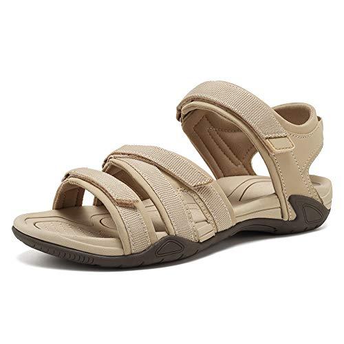 WALUCAN Women's Sport Sandals Hiking Sandals Outdoor Light Weight Water Shoes