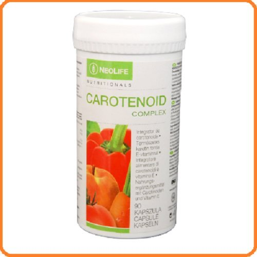 NEOLIFE CAROTENOID COMPLEX Factors Antioxidants. Mixture of Nutrients to Support Various Functions of the Body. An exclusive formula of vitamins. (90 Comp.)