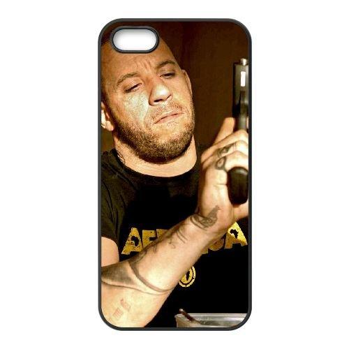 Babylon Ad 2 coque iPhone 5 5S cellulaire cas coque de téléphone cas téléphone cellulaire noir couvercle EOKXLLNCD21926