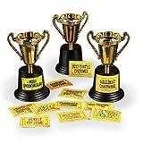 "Halloween Costume Contest Trophy (12 Pack) 5"". Plastic."