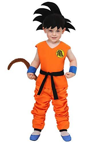 Dragon Ball Toddler Kid Goku Costume