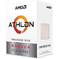 AMD Athlon 3000G 2-Core, 4-Thread Unlocked Desktop Processor with Radeon Graphics