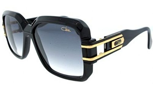 Cazal 623-001 SG Square Sunglasses,Black Frame/Grey Gradient Lens,57 - Men Cazal For