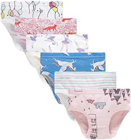 Cadidi Dinos Little Girls Soft Underwear Toddler Baby Panties Kids Briefs
