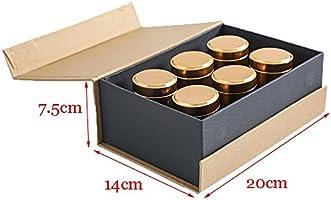 Utensilios de cocina Cafetera Tea Caddy, 6 Piezas Set de Caja de ...