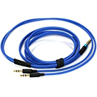 NEW NEOMUSICIA Audio Replacement Cable for Sol Republic Master Tracks HD V8 V10 V12 X3 Headphone, Blue