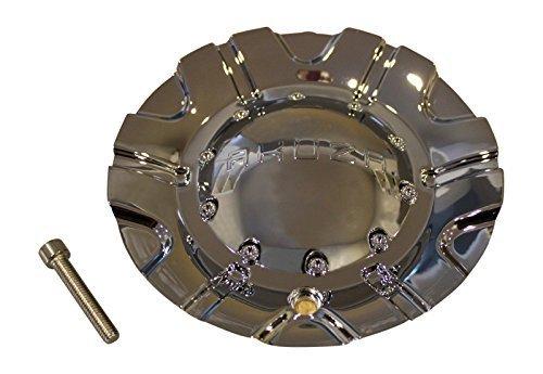 Akuza 504 Spur Chrome Wheel Rim Center Cap EMR0504-TRUCK-CAP LG0603-42
