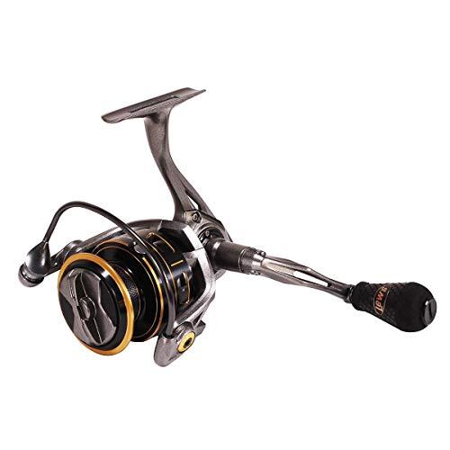 Lews Fishing, Custom Pro Speed Spin Spinning Reels, 6.2:1 Gear Ratio, 12 Bearings, 22 lb Max Drag, - Pro Spinning All Reel