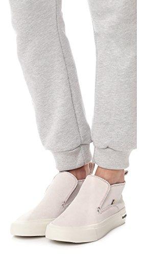 SeaVees Womens x Derek Lam 10 Crosby Huntington Middie Sneakers Oyster