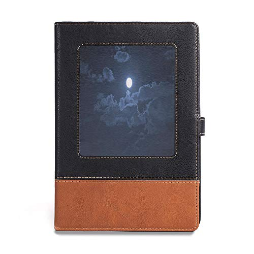 Durable Journal Writing Notebook,Night,A5(6.1