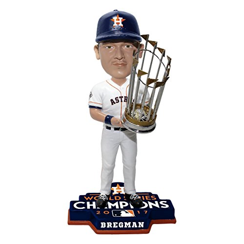 Mlb Bobble Head - Forever Collectibles Alex Bregman Houston Astros 2017 World Series Limited Edition Bobblehead MLB