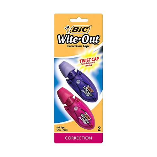 Bic Wite Out 2ct Mini Correction Tape