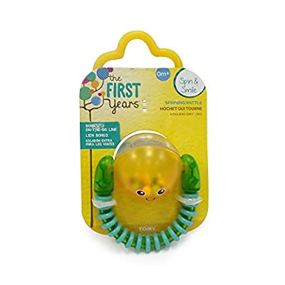 The First Years Spin and Smile Rattle : Baby Rattles : Baby