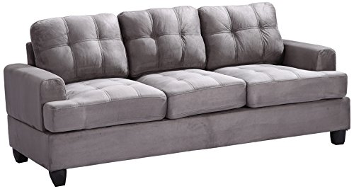 Glory Furniture G513A-S Living Room Sofa, Grey