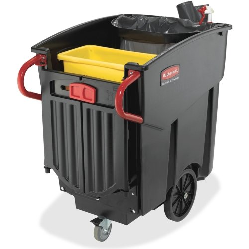 Rubbermaid Mega BRUTE Mobile Waste Collector - 120 gal Capacity - 10.5