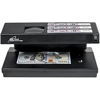Royal Sovereign Four-Way Countertop Counterfeit Detector (RCD-2000)
