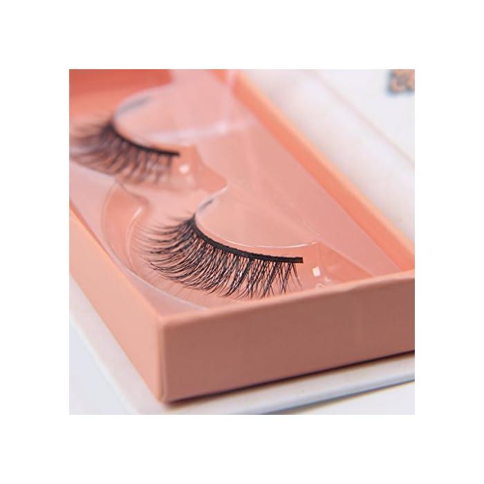 4d1206cf189 Arimika Handmade Lightweight Natural Short Mink False Eyelashes For ...