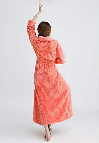 Uomo Accappatoio Shinegown Orange Accappatoio Shinegown q7Txv