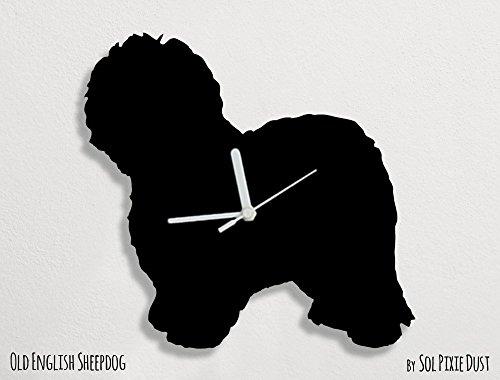 Old English Sheepdog - Wall Clock