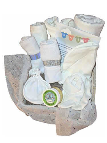 Newborn Baby Unisex Welcome Home Layette Gift Basket