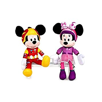 Famosa Softies Peluche 20 cm, Mickey y los Super Pilotos (760014889)